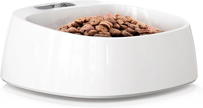 Pet Intelligent Antibacterial Weighing Dog Food Bowl Cat Bowl Dog Bowl Pet Products