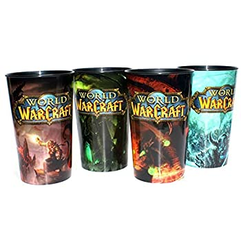World of Warcraft Collectible Edition Cups Set of All 4 .AM/PM