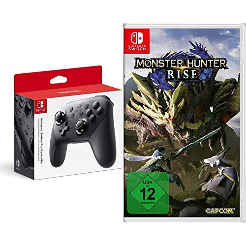 Nintendo Switch Pro Controller + Monster Hunter Rise