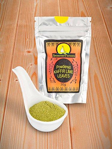 Pacchetto Richiudibile - Foglie di lime Kaffir in polvere, 30g …