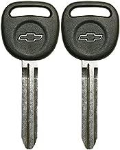 2 Oem Gm Uncut Blank Ignition Key Blade Chevy Gmc Isuzu Chevy Logo 692365
