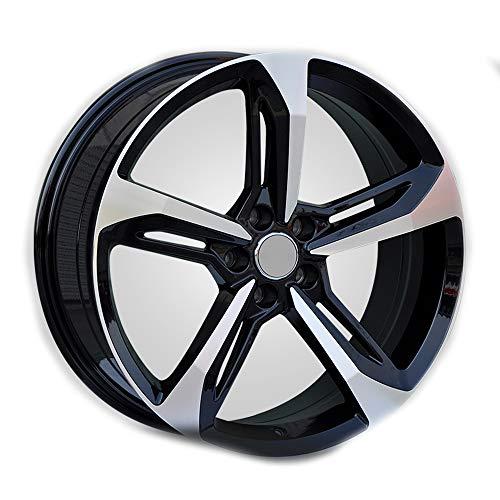 GYZD Alu Felgen 17 Zoll Durchfluss geschmiedete Radlegierung Ersatzrad Auto Rad Maschine Aluminium Felge Passend für R17 *7.5J Reifen Geeignet für a4l a6l a3 a4 a7 a5 q7 1 Stück,P