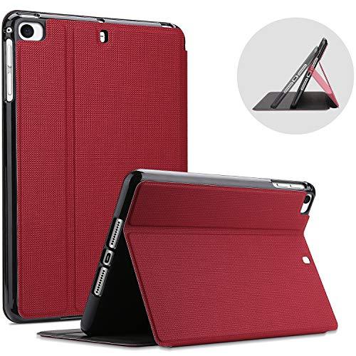 ProCase iPad Mini Case for iPad Mini 5 2019/ Mini 4, Mini 1 2 3, Slim Stand Protective Folio Case Smart Cover for iPad Mini 5/4/3/2/1 -Red