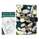 GCHH 2021 Journal Tapa Dura De Cuero Vegano Libreta De Notas, Papel Crema 120gsm, 144 Páginas Libretas Bonitas Puntos con Plantillas Extra | The Classic por (Verde)