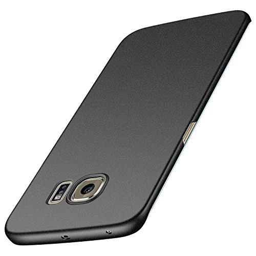Anccer Cover per Samsung Galaxy S6 Edge Plus, [Alta Qualità] [Ultra Thin] Anti-Scratch Hard PC Case Custodia per Galaxy S6 Edge Plus (Non adatto per Galaxy S6 Edge)-Ghiaia Nera