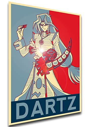 Instabuy Poster - Propaganda - Yu Gi Oh - Dartz Manifesto 70x50