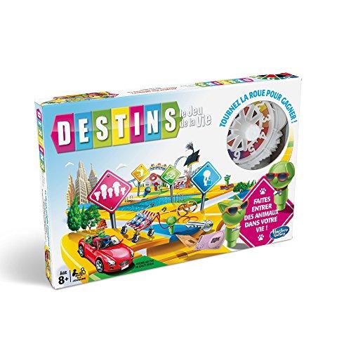 Hasbro The Game of Life Viajes/aventuras Niños y adultos - Juego de tablero (Viajes/aventuras, Niños y adultos, Niño/niña, 8 año(s), 100 pieza(s), Multicolor)