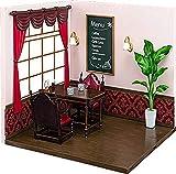 ねんどろいどプレイセット #09 喫茶店Aセット ノンスケール ABS&PVC製 ねんどろいど用ジオラマセット P58872