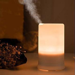 ناشر الزيوت العطرية بإضاءة LED مع خاصية إطلاق الروائح العلاجية ومرطب للهواء، جهاز للعلاج بالروائح العلاجية بخور وغرفة النو...