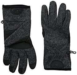 Timberland Men's Ribbed-Knit Glove with Touchscreen Technology