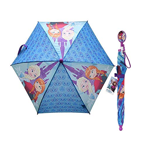 United Pacific Designs Frozen Kids Umbrella with Clamshell Handle Standard