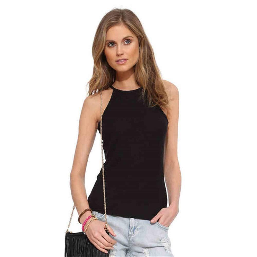 Camiseta sin mangas sin mangas Mujeres Slim-fit espalda abierta Tank Top Micro-transparente elegante camisola delgada camisa de yoga Activewear ropa entrenamiento chaleco (Color : C4 , tamaño : XXL) : Amazon.es: Hogar