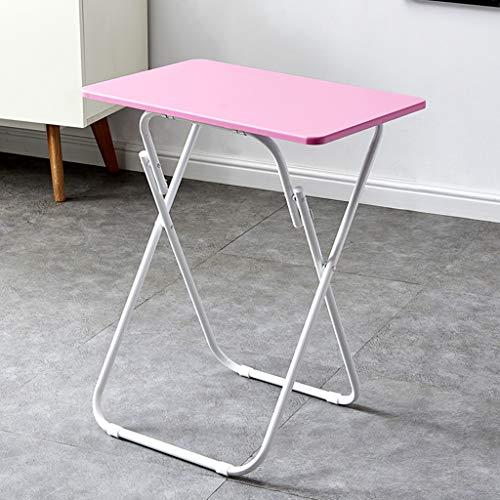 Folding table Tragbarer Klapptisch, Studiertisch, 60x40cm Laptop-Computertisch, Snack-Tisch, multifunktionaler einfacher Klapptisch