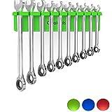 Olsa Tools Magnetic Wrench Holder Organizer (Green) |...