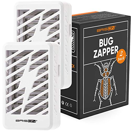 BRISON Bug Zapper - Mosquito Killer Lamp - Electronic Fly Trap - UV Electric Indoor Light Insect Zapper Mosquito Magnet Trap No Chemical