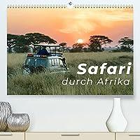 Safari durch Afrika (Premium, hochwertiger DIN A2 Wandkalender 2022, Kunstdruck in Hochglanz): Eine abenteuerliche Safari durch das wilde Afrika (Monatskalender, 14 Seiten )