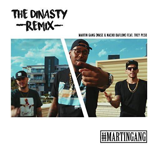MartinGang feat. Nacho DaFlow, Wase & Trey Peso