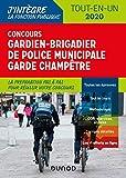 Concours Gardien-brigadier de police municipale - Tout-en-un - Concours 2020