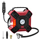 Best Portable Tire Inflators - INCLAKE 12V DC Tire Inflator, Portable Air Compressor Review
