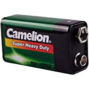 Camelion 6F22 9 V Super Heavy Duty Battery (Shrink Wrap Packaging)