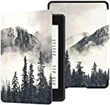 Colorful Star Smart Case for Kindle Paperwhite 10th Generation 2018 - PU Leather Kindle Paperwhite Covers for All-New Kindle Paperwhite E-Reader - Mountain in The Mist