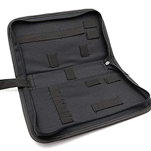 Insmart Werkzeugtasche, Uhrmacher Portable Zip Uhr Repair Tool Aufbewahrungstasche 18 Elastic Ribbon...