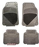XtremeAuto® Universal Fit Full Set of Car MATS Black XA13