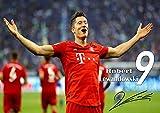 Robert Lewandowski #3 A4 ungerahmt Motivation Polnischer