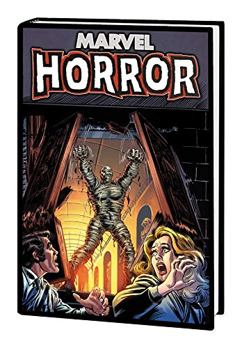 Compare Textbook Prices for Marvel Horror Omnibus  ISBN 9781302919535 by Buscema, John,Marcos, Pablo,Alcala, Alfredo,Montano, Yong,Gerber, Steve,Moench, Doug,Isabella, Tony,Wein, Len