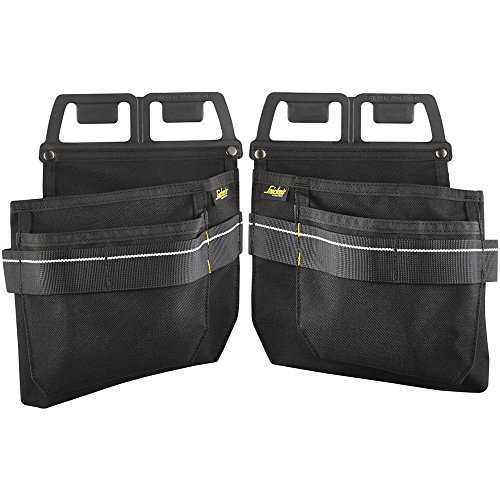 Snickers Workwear 9796 Nagel- & Schreauben Taschen, schwarz, STD bzw. Einheitsgröße