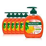 Palmolive Seife Hygiene-Plus Family 6 x 300 ml, antibakteriell, für alle Hauttypen, flüssige...