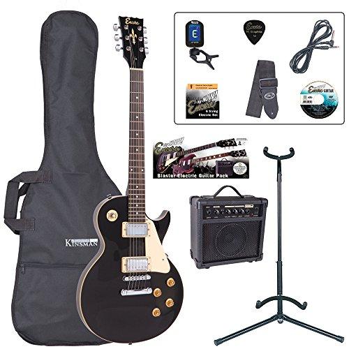 Encore EBP-E99BLK Elec.Guitar Outfit - Gloss Black