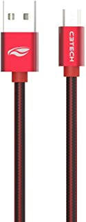 Cabo Usb-Micro Usb, C3TECH, 441010500804, Vermelho