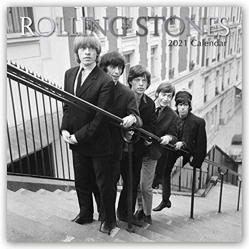 Rolling Stones 2021 - 16-Monatskalender: Original The Gifted Stationery Co. Ltd [Mehrsprachig] [Kalender] (Wall-Kalender)