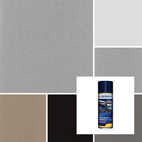 2R Stock SRL Kit stoffen bekleding hemel auto type Audi/VW + lijm spray transparant
