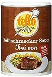 tellofix Feinschmecker Sauce zu Braten Frei von - ohne Geschmacksverstärker, ohne Farbstoffe und ohne...