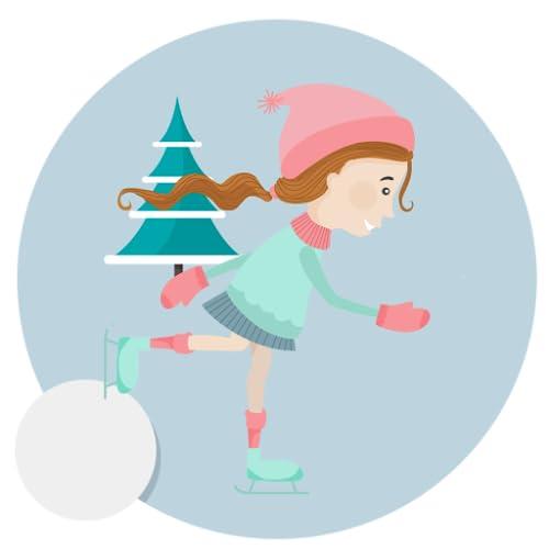 Downhill Ice Skate