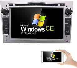 hizpo 7 pulgadas Car Audio Estéreo En Dash Doble Din para Opel Vauxhall CORSA Vectra Astra apoyo reproductor de DVD de navegación GPS Bluetooth Radio de coche USB SD + Mapa Tarjeta Cámara