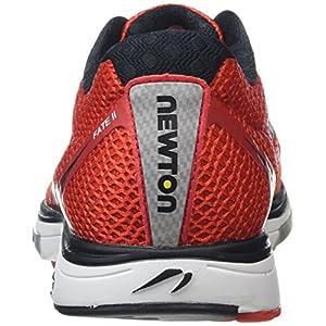 Newton Running Fate II Men's Running Shoe, Zapatillas Hombre, Rojo (Red/Black), 42.5 EU