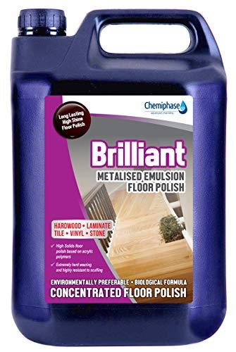 Chemiphase Brilliant - Hardwood Long Life Floor Polish - 5 Litres