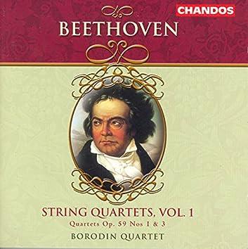 Beethoven: String Quartets, Vol. 1