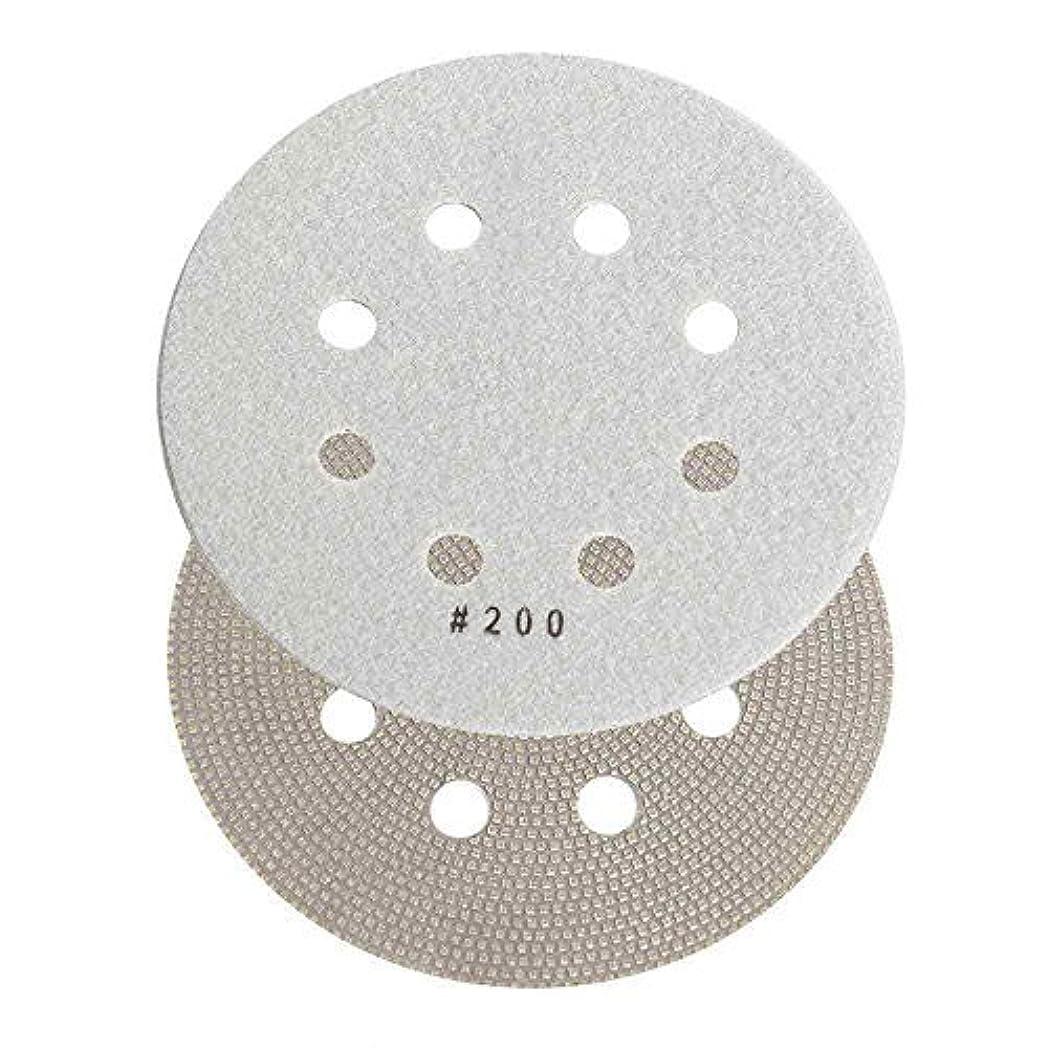 節約照らす引っ張るSpecialty Diamond BRTD6200 200 Grit 6 Thin Electroplated Dry Pad for Orbital Sanders [並行輸入品]