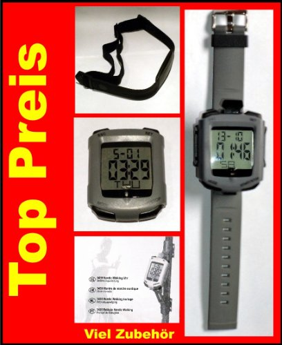 Nordic Walking Puls Uhr LED Indikator