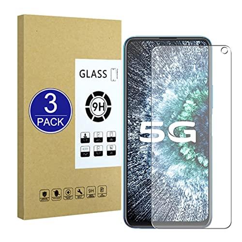 X-Dision [3 Piezas Compatible con Protector de Pantalla Vivo IQOO Neo 3 5G,Película Protectora 2.5D[Dureza 9H,Compatible con Estuches,A Prueba Roturas] Premium Película Vidrio Templado