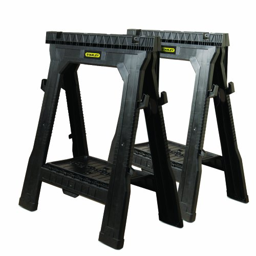 Stanley Folding Sawhorses 2-Pack
