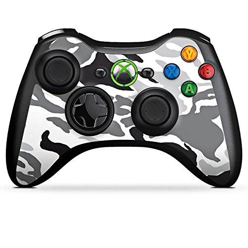 DeinDesign Skin kompatibel mit Microsoft Xbox 360 Controller Folie Sticker Camouflage Bundeswehr Muster