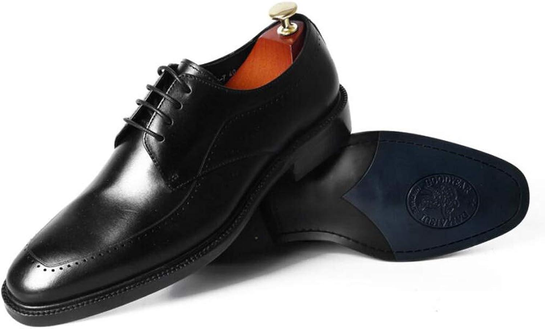 Zxcer herrar läder -resistenta -resistenta -resistenta företagskläder remmar Män's bröllop skor Trend work  fabriksförsäljningar