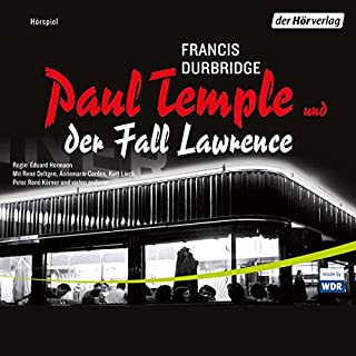 Paul Temple und der Fall Lawrence Titelbild