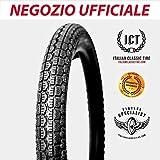 3.00-17 scolpito ORIGINALI Italian Classic Tire pneumatico gomma per moto d' epoca 17x3.00
