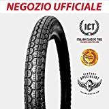 2.50-19 Scolpito ICT pneumatici per moto d'epoca ORIGINALI Italian Classic Tire